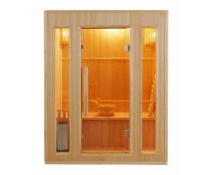 Sauna finlandese tradizionale SAKURA da 3 posti