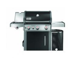 Barbecue a Gas Weber Spirit Premium E-330 GBS BLACK-INOX Piastra in ghisa con carrello modello