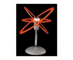 Abat-jour ba-stella 014 lampada tavolo bambini plexiglass interno e14, colore arancio