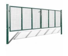 Cancello a Rete per Giardino 415 x 175 cm / 400 x 125 cm