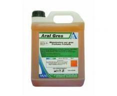Lavapavimenti Concentrato Aral Gres Specifico per Pavimenti in Gres Profumato 5kg