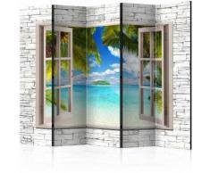 Paravento 5 Pannelli - Dream Island Ii 225x172cm Erroi