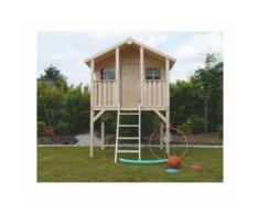Casetta in legno per bambini TRADITIONAL con pavimento 180 x 190 x 281 cm - Onlywood