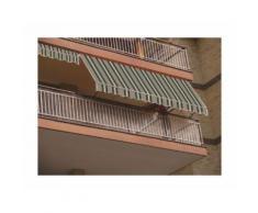 Tenda tende da sole a balcone bracci 300x250 vari colori disponibili caduta