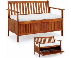 Panca panchina in legno massiccio oliato mobili da giardino dondolo certificate mpn: panchina con
