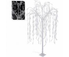 ALBERO WILLOW TREE 360 LED BIANCO FREDDO 180 CM ADDOBBI ALBERO NATALE