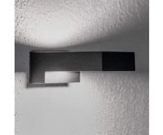 Applique LED nera Natalja da bagno