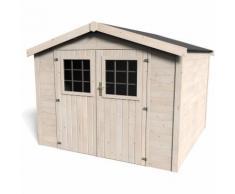 Casetta in Legno Blockhouse 28mm Ricovero Rimessa per Attrezzi Casa da Giardino
