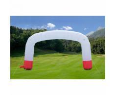 Arco Gonfiabile Personalizzabile Banner Scritte Cerimonie Sponsor Festa Giardino - Opzioni: Con