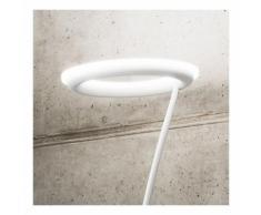 Piantana ge-gpib02 gpin02 24w led 1730lm dimmerabile alluminio bianco nero opaco vetro lampada