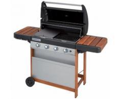Barbecue a gas Campingaz 4 Series Woody L con forno, piastra e griglia