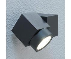 Faretto Lorelle, mobile, a LED, per esterni
