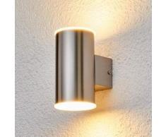 Morena - applique LED da esterni, acciaio inox