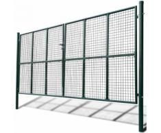 Cancello a Rete per Giardino 415 x 250 cm / 400 x 200 cm