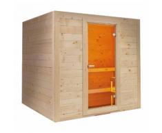 Sauna finlandese in abete rosso massello per 6 o 8 persone Islanda | 6 posti
