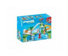 Playmobil 6669 - Torre Degli Scivoli Con Piscina - Summer Fun