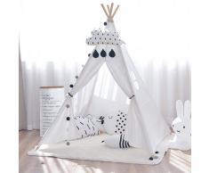 SuperStudio Tenda gioco per bambini INDIANA Bianco