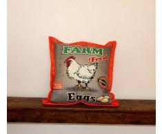 Cuscino Arredo Farm Fresh Gallina