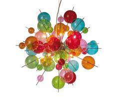 Näve Lampada a sospensione in vetro colorato Aurinia