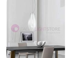 Due P Illuminazione Giada Lampada A Sospensione In Vetro Soffiato Design Moderno D. 16 Cm
