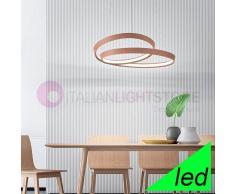 Perenz Srl Ritmo Lampada A Sospensione Cerchi Luminosi A Led Design Moderno