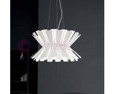 Selene Illuminazione Elettra Originale Lampada A Sospensione D.58 Design Moderno