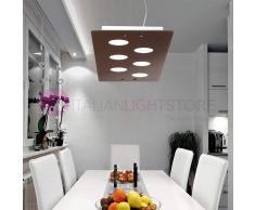 Silvenlight In Color Lampada A Sospensione Moderna In Vetro Colorato L. 84x30