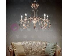 Lampadari In Ferro Battuto Bianco : Lampadari cucina ferro battuto in bianco lampadario da soffitto