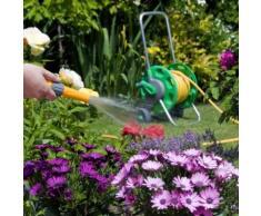 Hozelock Avvolgitubo con 20 m di tubo per l'irrigazione del giardino