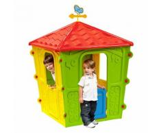 Casa Casetta Bambini In Resina Per Bimbi Uso Esterno Giardino Alte...