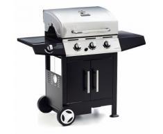 Barbecue A Gas 3 Bruciatori Con Fornello Laterale Sochef Golosone ...