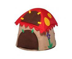 Casetta Tenda Bambini In Tessuto Bazoongi Special Edition Mushroom...