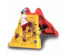 Scivolo Da Esterno Con Parete Scalabile Per Bambini 212x103x108 Cm...