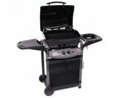 Barbecue A Gas Sistema Roccia Lavica Con Fornello Laterale Sochef ...