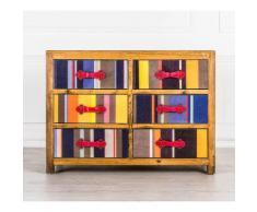 Credenza Sei Cassetti Collezione Colours...