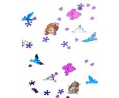 Coriandoli colorati principessa Sofia