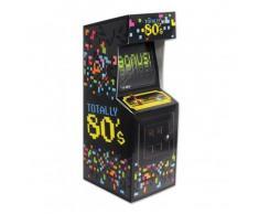 Centrotavola a forma di videogioco arcade anni '80