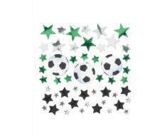 Coriandoli da tavola stelle e palloni da calcio 34 gr