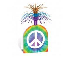 Centrotavola con simbolo della pace 38 cm