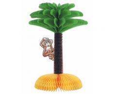 Centrotavola di carta palma Hawaii