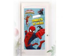 Decorazione per porte con adesivo di Spiderman