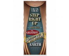 Decorazione per porta circo vintage