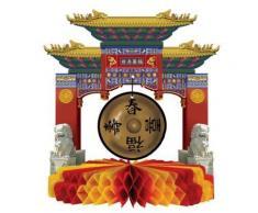 Centro tavola a forma di monumento cinese