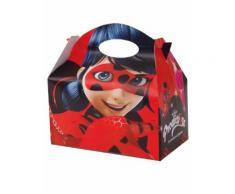 4 scatole in cartone Ladybug