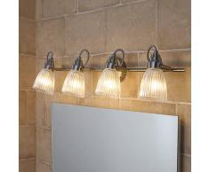 Lampenwelt.com Kara - lampada per bagno con faretti LED G9