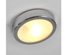 Searchlight Lampada bagno MARE incast cromo vetro satinato