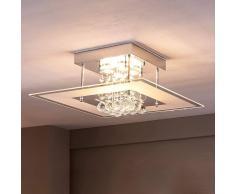 Lampenwelt.com Lisandra - lampada LED da soffitto per bagno