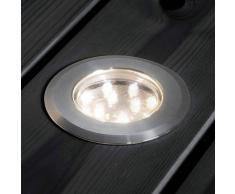 Konstmide Set di tre lampade da incasso a pavimento MINI LED