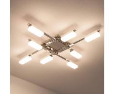 Lampenwelt.com Lukretia - plafoniera LED a 8 lampade