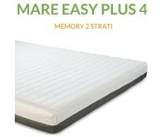 Evergreenweb Materasso Memory Ortopedico a 7 zone 4cm H18 Mare Easy Plus 4 Prezzi a partire da